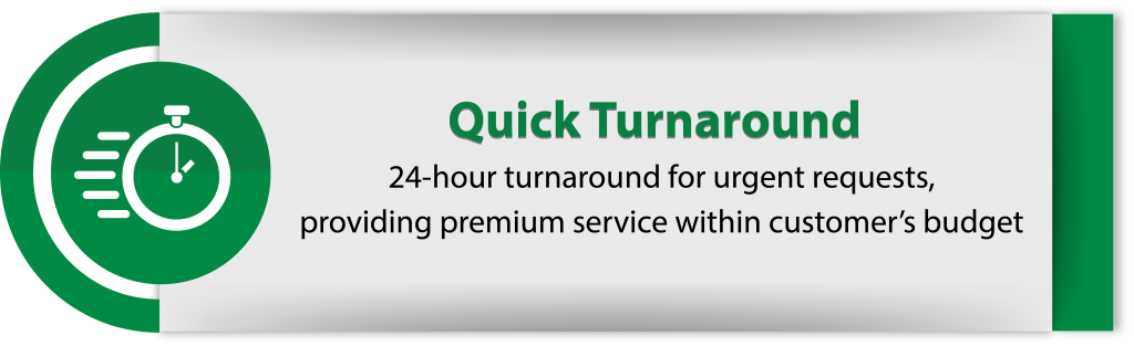 5_Quick Turnaround